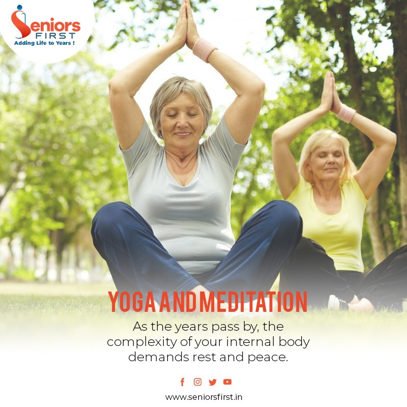 Yoga for seniors - How is it different !
