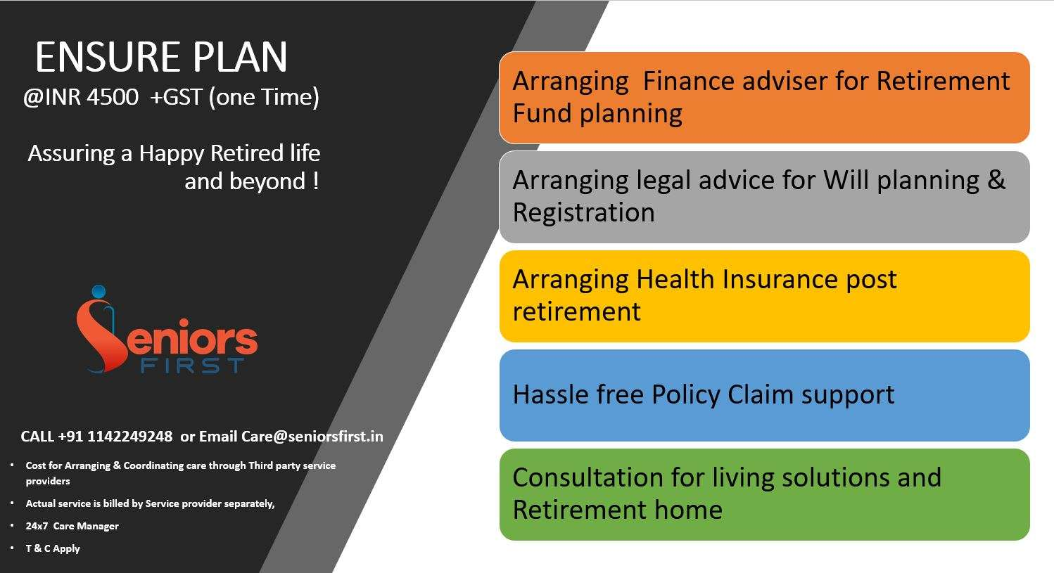 Ensure Plan for a Carefree Retirement