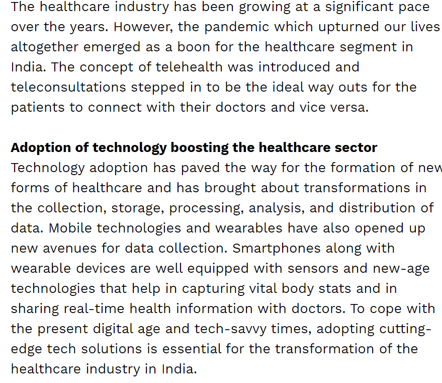 Reinventing the healthcare industry for the digital age, Healthcare Radius, July20,2021